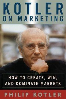Kotler on Marketing book cover