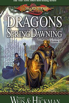 Dragons of Spring Dawning book cover