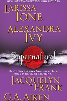 Supernatural book cover
