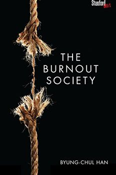 The Burnout Society book cover