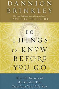 Ten Things to Know Before You Go book cover