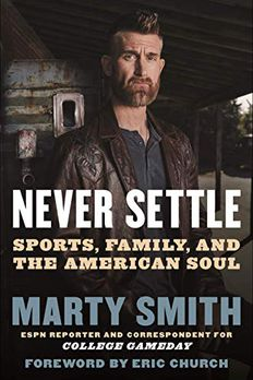 Never Settle book cover