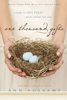 One Thousand Gifts book cover