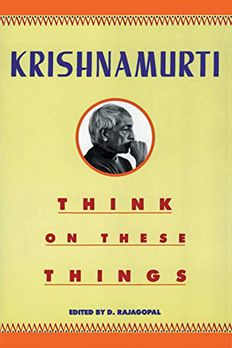 Think on These Things book cover
