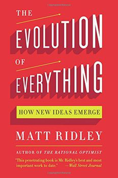 The Evolution of Everything book cover