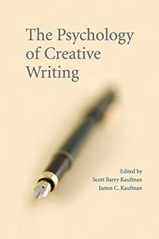 The Psychology of Creative Writing book cover