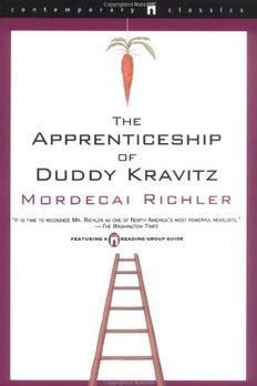 The Apprenticeship of Duddy Kravitz book cover