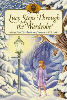 Lucy Steps Through the Wardrobe book cover