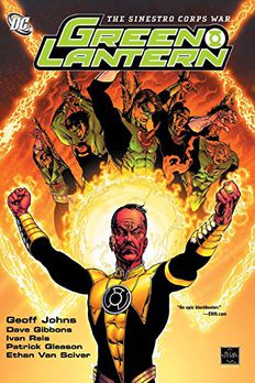 The Sinestro Corps War book cover