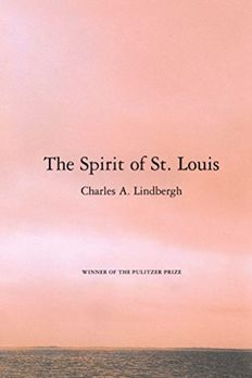 The Spirit of St. Louis book cover