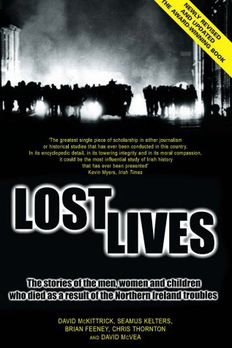 Lost Lives book cover