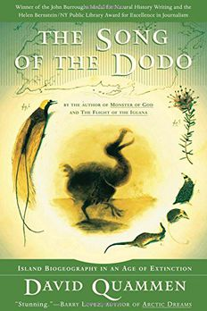 The Song of the Dodo book cover
