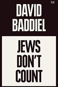 Jews Don't Count book cover