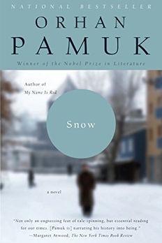 Snow book cover