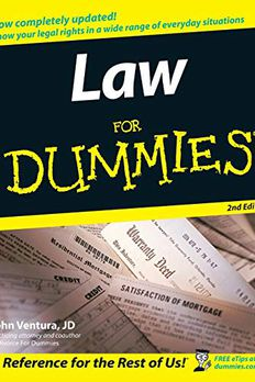 Law For Dummies book cover