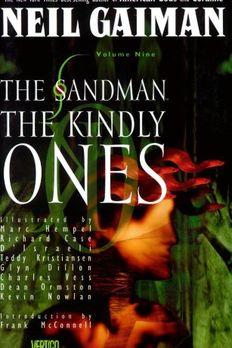 Sandman, The book cover
