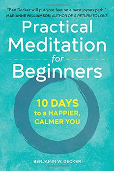 Practical Meditation for Beginners book cover