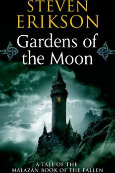 Gardens of the Moon book cover