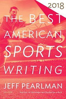 The Best American Sports Writing 2018 book cover
