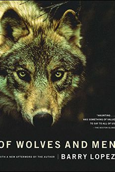 Of Wolves and Men book cover