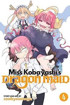 Miss Kobayashi's Dragon Maid, Vol. 4 book cover