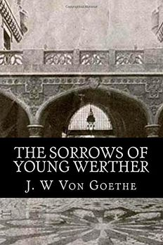 The Sorrows of Young Werther book cover
