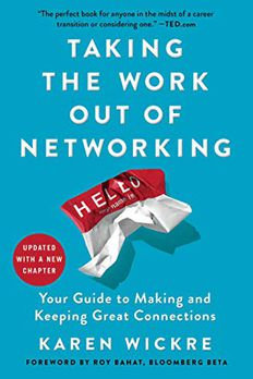 Taking the Work Out of Networking book cover