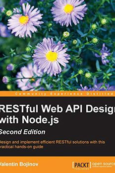 RESTful Web API Design with Node.js - Second Edition book cover