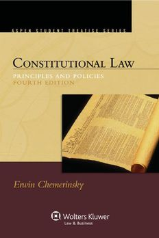 Constitutional Law book cover