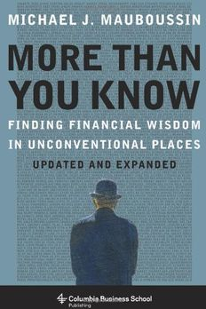 More Than You Know book cover