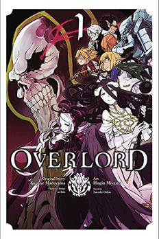 Overlord Manga, Vol. 1 book cover