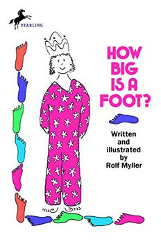 How Big Is a Foot? book cover
