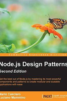 Node.js Design Patterns book cover