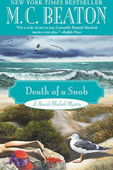 Death of a Snob book cover