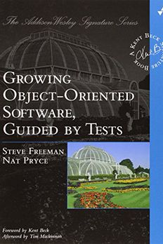 Growing Object-Oriented Software, Guided by Tests book cover