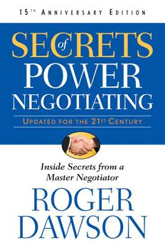 Secrets of Power Negotiating,15th Anniversary Edition book cover
