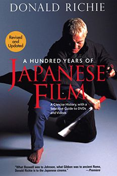 A Hundred Years of Japanese Film book cover