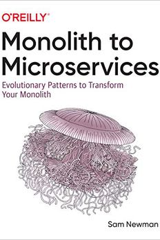 Monolith to Microservices book cover