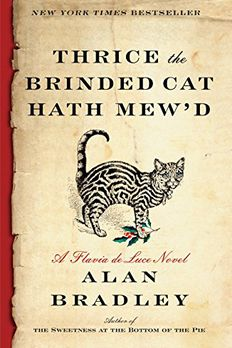 Thrice the Brinded Cat Hath Mew'd book cover