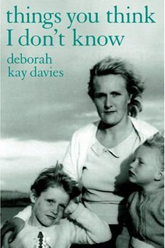 Things You Think I Don't Know book cover