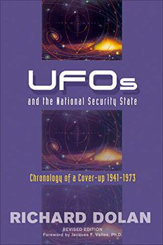 UFOs and the National Security State book cover
