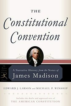 The Constitutional Convention book cover
