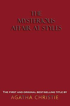 The Mysterious Affair at Styles book cover
