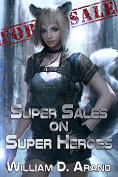 Super Sales on Super Heroes book cover
