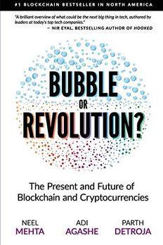 Blockchain Bubble or Revolution book cover
