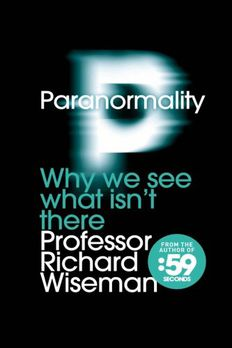 Paranormality book cover