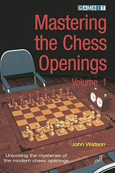 Mastering the Chess Openings book cover