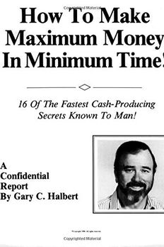 How To Make Maximum Money In Minimum Time book cover