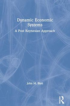 Dynamic Economic Systems book cover