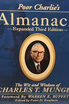 Poor Charlie's Almanack book cover